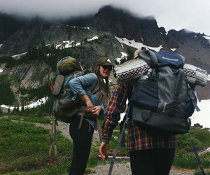 camping, indie, and mountain image