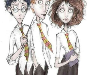 harry potter, tim burton, and hermione granger image