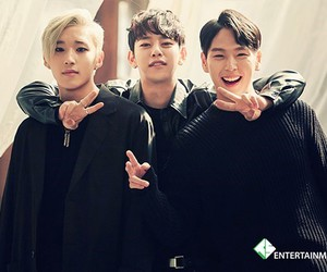 bap, daehyun, and himchan image
