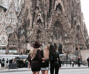 Barcelona, fashion, and girls image