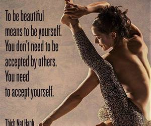 beautiful, yoga, and accept image