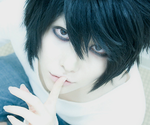 L, cosplay, and death note image