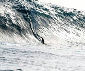 surfing, waves, and big image