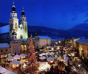 city, christmas, and holiday image