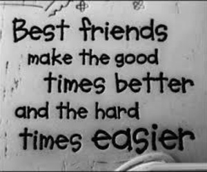 quote, friends, and best friends image