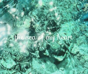 amour, message, and ocean image