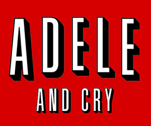 Adele, cry, and netflix image