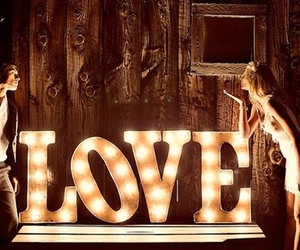 love, photography, and light image