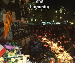 humanity, je t'aime, and mon amour image