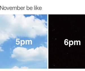 funny, november, and night image