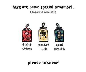 omamori, cute, and japanese image