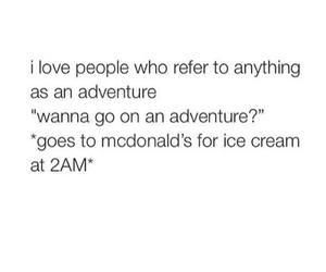 McDonalds, friends, and aventure image