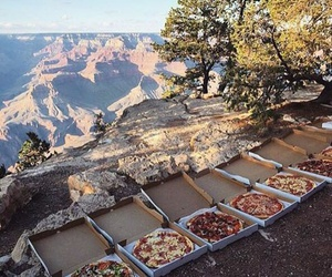 pizza, food, and nature image
