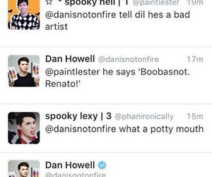 sims, twitter, and danisnotonfire image