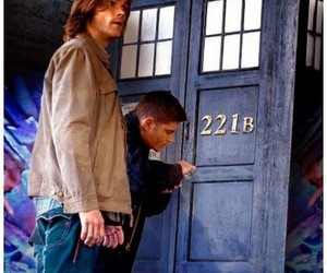 doctor who, supernatural, and dean image