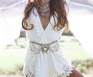 boho, coachella, and gypsy image