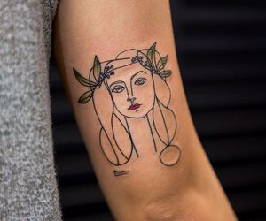 tattoo, art, and picasso image