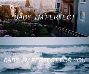 perfect, one direction, and Lyrics image