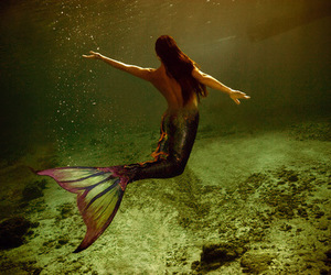 mermaid and ocean image