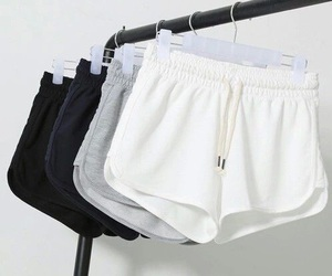 fashion, shorts, and white image