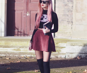 color hair, cool, and fashion image