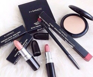 mac, makeup, and lipstick image
