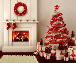 christmas, red, and winter image