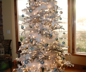 beautiful, christmas tree, and decorations image