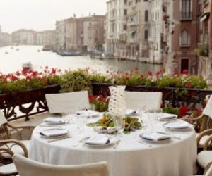 romantic, table, and view image