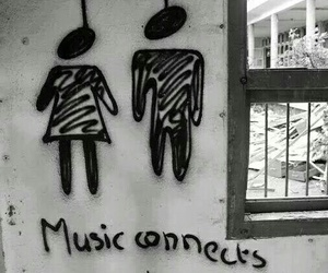 connection, music, and people image