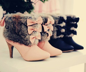 boots, cute, and girly image