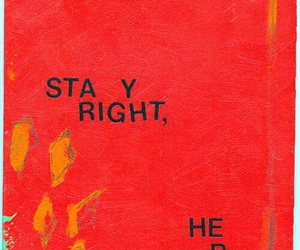 quotes, red, and stay image