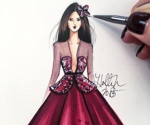 draw, dress, and girl image