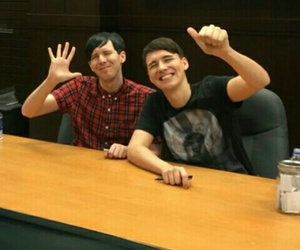 dan and phil, youtube, and amazingphil image