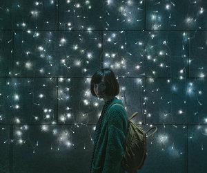 lights, girl, and alternative image