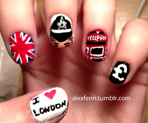 london and nails image