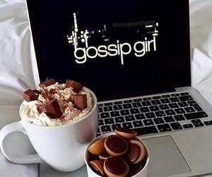 gossip girl, chocolate, and food image