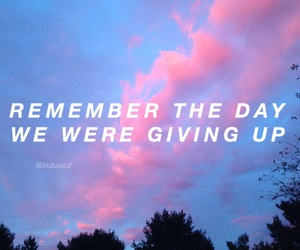 clouds, grunge, and quotes image