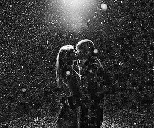 her, snow, and him image