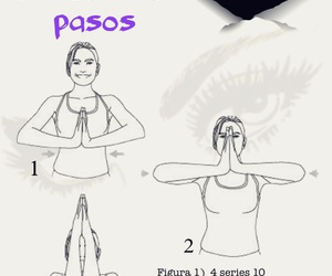 chicas, workout, and fitness image