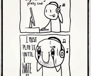 funny, music, and true image