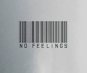 feelings, sad, and no feelings image