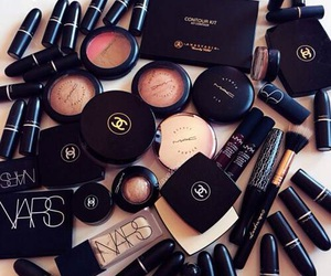 makeup, chanel, and mac image