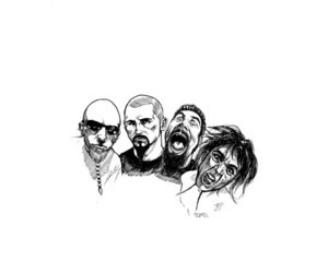 band, metal, and system of a down image