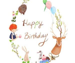 happy birthday, animals, and birthday image
