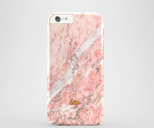 case, marble, and pink image