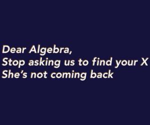 algebra, fucking awesome, and hilarious image