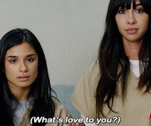 pizza, love, and orange is the new black image