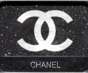 chanel, glitter, and beauty image