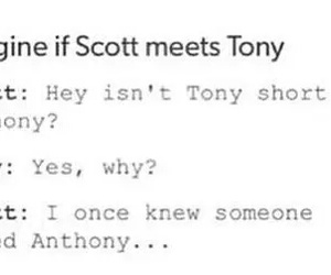 anthony, tony stark, and ant-man image